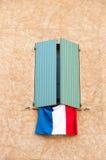 Franse vlag Royalty-vrije Stock Foto