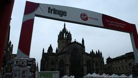 Fransenfestival, Schottland stock footage