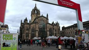 Fransenfestival, Schottland stock video footage