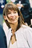 Fransk aktris Sophie Marceau Arkivbild