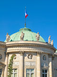 Fransk arkitektur i Paris Arkivfoton