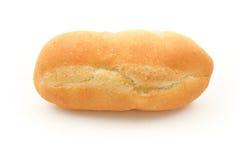 Fransk bagett på vit bakgrund Fotografering för Bildbyråer