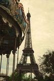 Fransk carrousel Royaltyfri Bild