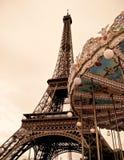 Fransk carrousel Arkivfoton