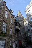 Fransk destination, Saint Malo Arkivbild