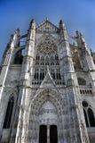 Fransk domkyrka Royaltyfri Bild