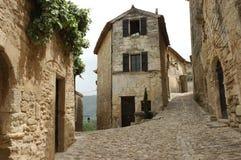 fransk gammal by arkivbilder