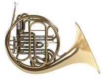 fransk horn Royaltyfria Bilder