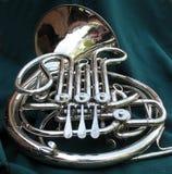fransk horn Arkivfoton