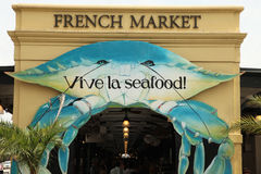 fransk marknad New Orleans Royaltyfri Foto