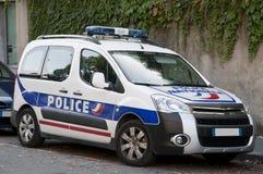 fransk modern polis för bil Arkivfoton