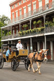 fransk New Orleans fjärdedel Royaltyfria Bilder