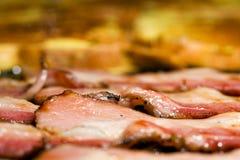 fransk ny gallerrostat bröd för bacon Royaltyfri Fotografi