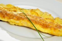Fransk omelett Royaltyfri Foto