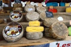 Fransk ost Arkivbilder