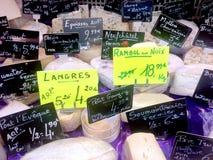Fransk ost Fotografering för Bildbyråer