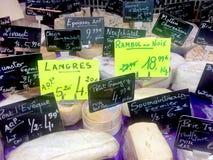 Fransk ost Royaltyfria Bilder