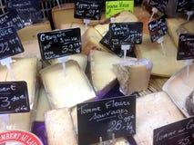 Fransk ost Arkivbild