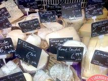 Fransk ost Arkivfoto