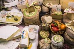 Fransk ost Korsika royaltyfria bilder