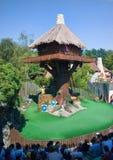 fransk parkteater för asterix Royaltyfria Bilder