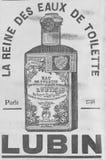 Fransk publicitet från slutet av det 19th århundradet Fotografering för Bildbyråer