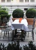 fransk restaurang fotografering för bildbyråer