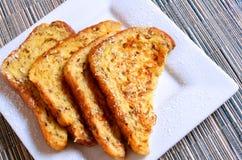 fransk rostat bröd Royaltyfri Fotografi