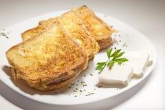 fransk rostat bröd Arkivfoto