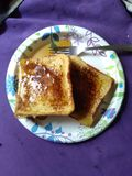 fransk rostat bröd Fotografering för Bildbyråer