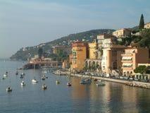 fransk sjösida Fotografering för Bildbyråer