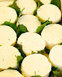 Fransk slapp ost Arkivfoto