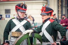 fransk soldat royaltyfri fotografi