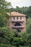 fransk villa Royaltyfria Bilder
