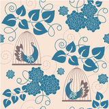 fransk wallpaper Royaltyfria Bilder