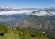 franska alpes Royaltyfri Foto