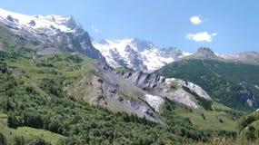 franska alps Royaltyfri Fotografi
