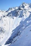 franska alps Arkivbild