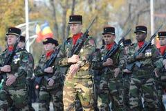 Franska armésoldater Arkivbilder