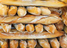 Franska bagetter Royaltyfri Bild