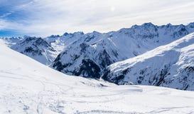 franska berg Fotografering för Bildbyråer