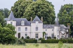 Franska Charteau i Frankrike arkivfoton