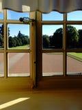 franska dörrar Royaltyfria Bilder