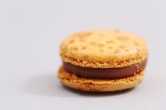 Franska färgrika macarons Royaltyfria Bilder
