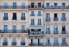 franska fönster arkivfoton