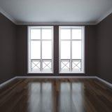 franska fönster Arkivbild