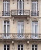 franska fönster Arkivfoto