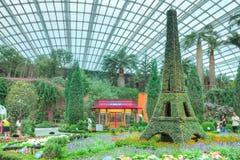 Franska Faire, trädgårdar vid fjärden, Singapore Arkivbild