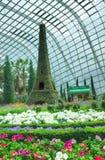 Franska Faire, trädgårdar vid fjärden, Singapore Arkivfoto