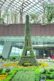 Franska Faire, trädgårdar vid fjärden, Singapore Royaltyfria Bilder